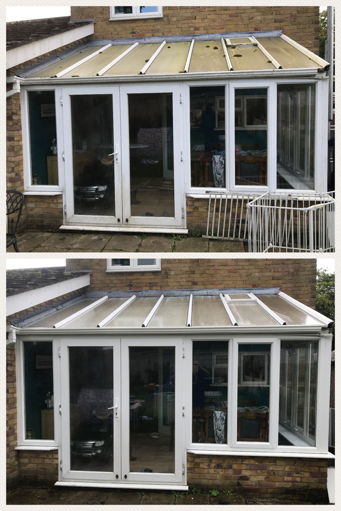 Conservatory Clean in Alton
