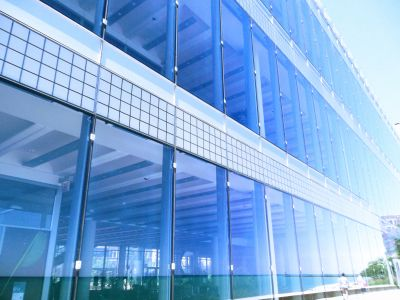 Commercial Window Cleaning Huge Office Building
