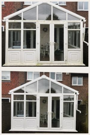 Conservatory Clean in Four Marks